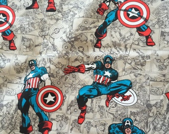 Captain America Library Bag, Swim Bag, etc
