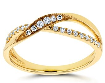 Diamond Fashion Ring 1/5 carat (ctw) in 10K Yellow Gold