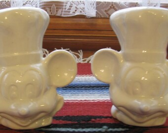 Mickey Mouse Salt and Pepper Shakers