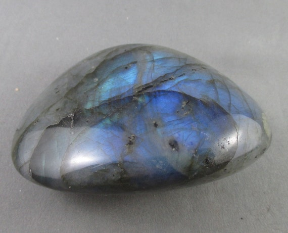 Beautiful Blue Labradorite Magical Black Moonstone Large