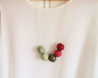Rasberry necklace