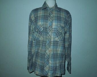 Vintage HIGH SIERRA By Mervyn's Wool Shirt Size M