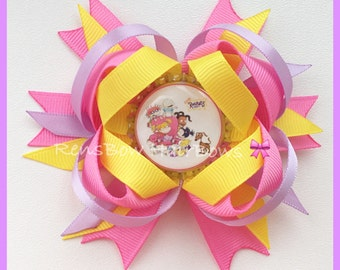 Rugrats Inspired Hair Bow Clip