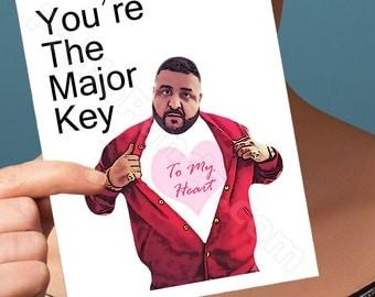 Boyfriend Gift  | Dj Khaled Card | Birthday Card  Dj Khaled Birthday Dj Khaled Graduation Boyfriend Gift Anniversary Gifts For Boyfriend