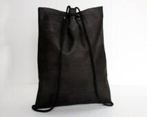Backpack Corkskin, Backpack Cork, vegan Backpack, Cork Bag, Cork, Vegan, black Backpack