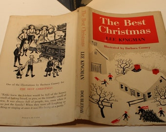 The Best Christmas by Lee Kingman - Doubleday & Co. 1949 - First Edition