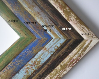 3Set Photo frame A4 picture frame SET FRAMES painted frame wood frame 21x30cm wood frame rustic frames RusticFrameShop
