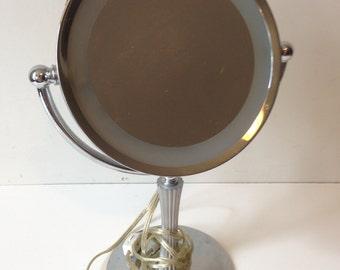 UL Underwriters Labortories Desktop Makeup Mirror with light Cosmetic lighted Mirror