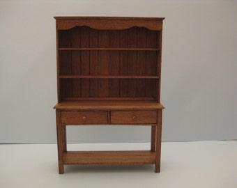 1/12th Scale Oak Dresser
