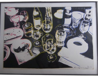"ANDY WARHOL Screenprint ""After the Party"" Signed & Numbered"
