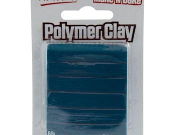 Mont Marte Make n Bake Polymer Clay - Teal