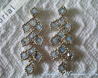 Evening Leaves Earring Tutorial
