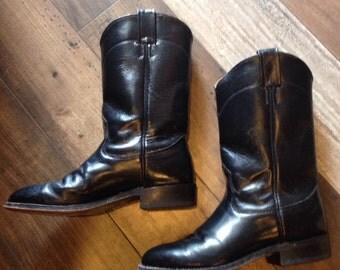 Black Nocona boots | Women's size 5 | cowboy boots