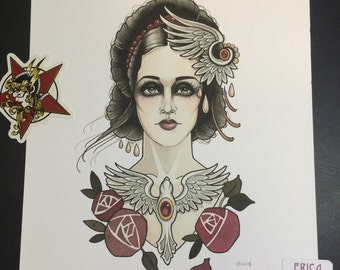 Lovely Lady Print