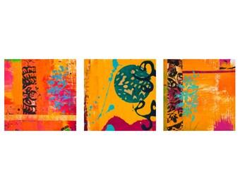 Laguna Sunrise Triptych Wall Art (Set of 3)