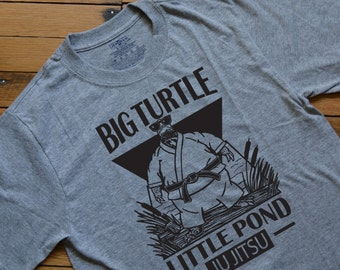 Customizable Big Turtle Little Pond Ju Jitsu
