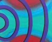 "Original Acrylic Abstract Painting on Canvas ""S8 III"""