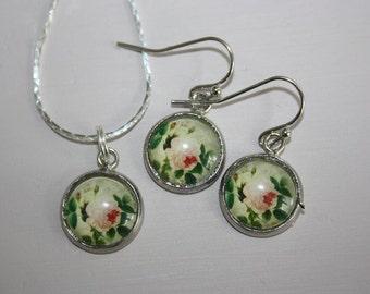 Handmade Necklace & Matching Earring Set