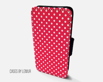 POLKA DOT Iphone 6s Wallet Case Leather Iphone 6s Case Leather Iphone 6s Flip Case Iphone 6s Leather Wallet Case Iphone 6s Leather Sleeve