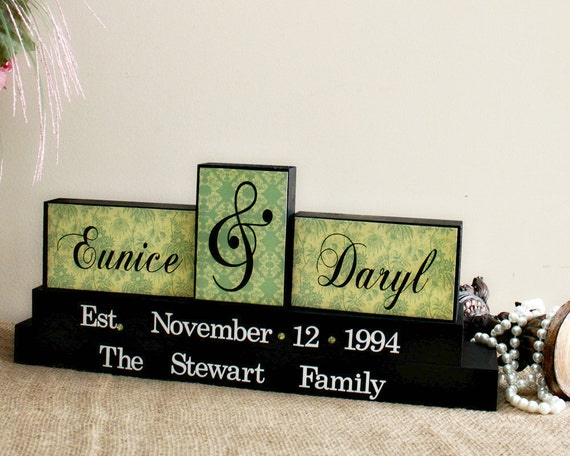 Unique Wedding Gifts Canada : ... Personalized Family Name Wood Sign - Wedding Gifts Canada - Bridal