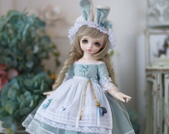 Nigo-bjd clothes ={ Bunny Maid }= for Yosd