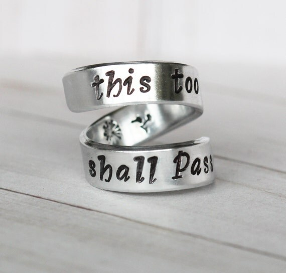 This Too Shall Pass Ring Buy Uk