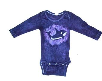 Batik Orca Baby Onesie