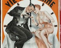 Art Deco La Vie Parisienne French 1934 Paris  Full Magazine Risqué Nude Pictures Erotica publication Advertisement Erotic