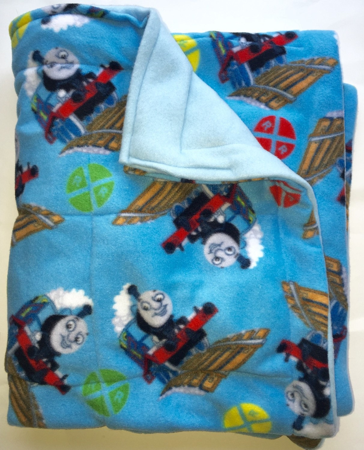 Sensory Young Child Weighted Blanket Thomas The Train 5 Lbs