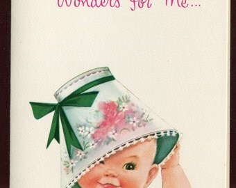 Whipper Snappers Get Well Vintage Greeing Card Unused with Envelope It Does Wonders for Me