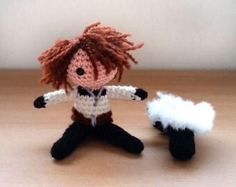 Squall Leonhart Amigurumi doll