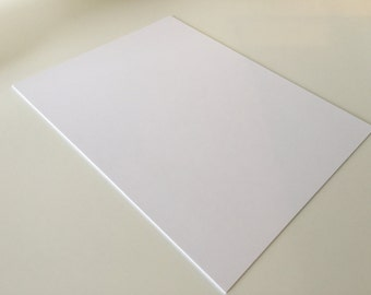 White Card Stock 8.5 x 11 Premium Paper Smooth Acid Free 110lb index white for scrapbooking paper supply diy multipack supplies