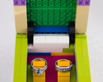 Lego Ring Box for Ring Bearer Assorted Colors