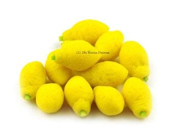 Dolls House Miniature Lemon
