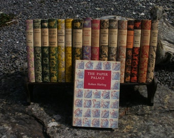 The Paper Palace - Robert Harling - vintage book - 1952 hardback edition with dustjacket