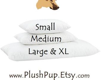 Xl Dog Bed Pillow Large Dog Bed Replacement Mattress Insert