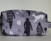 After All This Time Medium Knitting & Crochet Project/Toiletry Box Bag