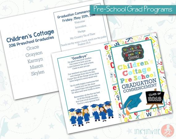 PreSchool Graduation Programs  PreK Class Graduation Programs