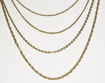 Small Multi-chain Necklace