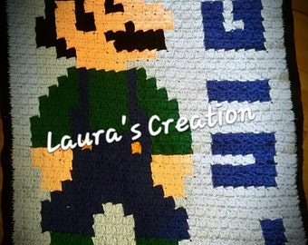 Luigi Blanket