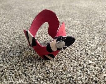 Snake Bracelet - Milk Snake Leather Bracelet