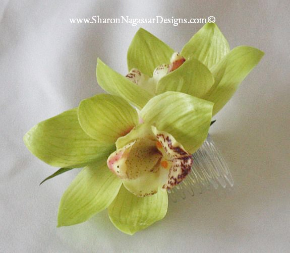 Style with Silk Orchid Head