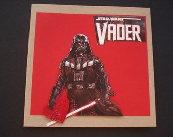 STAR WARS Valentine Card ~ From Vader, With Love