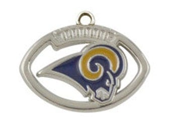 Los Angeles Rams Football Charm