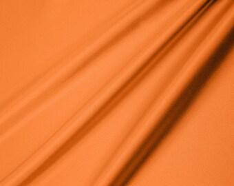 Silky Satin Solid Orange Dark 621 Shannon Fabrics