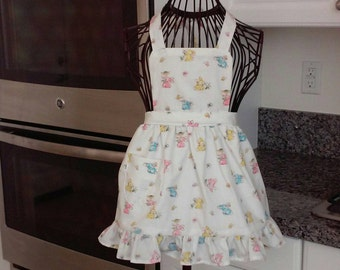 Girls Easter apron