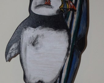 Puffin Surfer Dude
