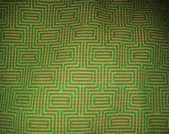 Vintage wool  fabric