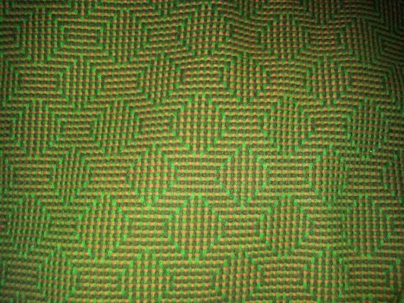 Vintage Wool Fabric 110