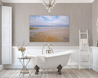 New England Summers ~ Chapin Beach, Cape Cod, Canvas Gallery Wrap, Beach, Photography, Nautical, Coastal Home Decor, No Frame Needed,Artwork